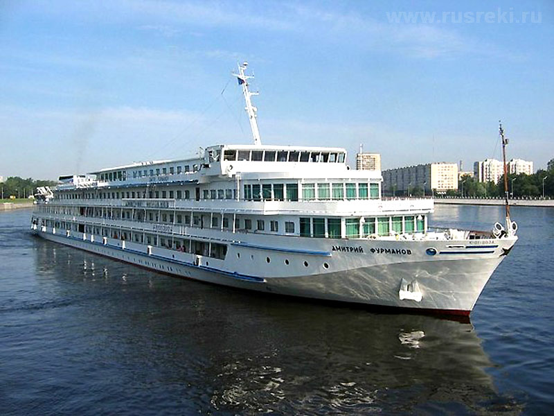Cruise on the ship Dmitry Furmanov. Kalyazin or how we rooted for our 52